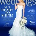 Cover photo of Martha Stewart's Weddings Magazine, Winter 2015