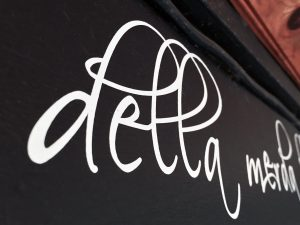 Vinyl lettering can peel and bubble along the edges and can sometimes look unprofessional. Our expert opinion is that dry transfers are better than vinyl decals that are smaller than 1/2 inch in height.