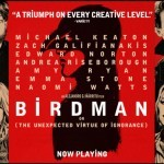 The banner for the film Birdman 2014
