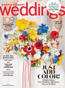 We made custom dry transfers for Martha Stewart Weddings Magazine, June 2017 edition.