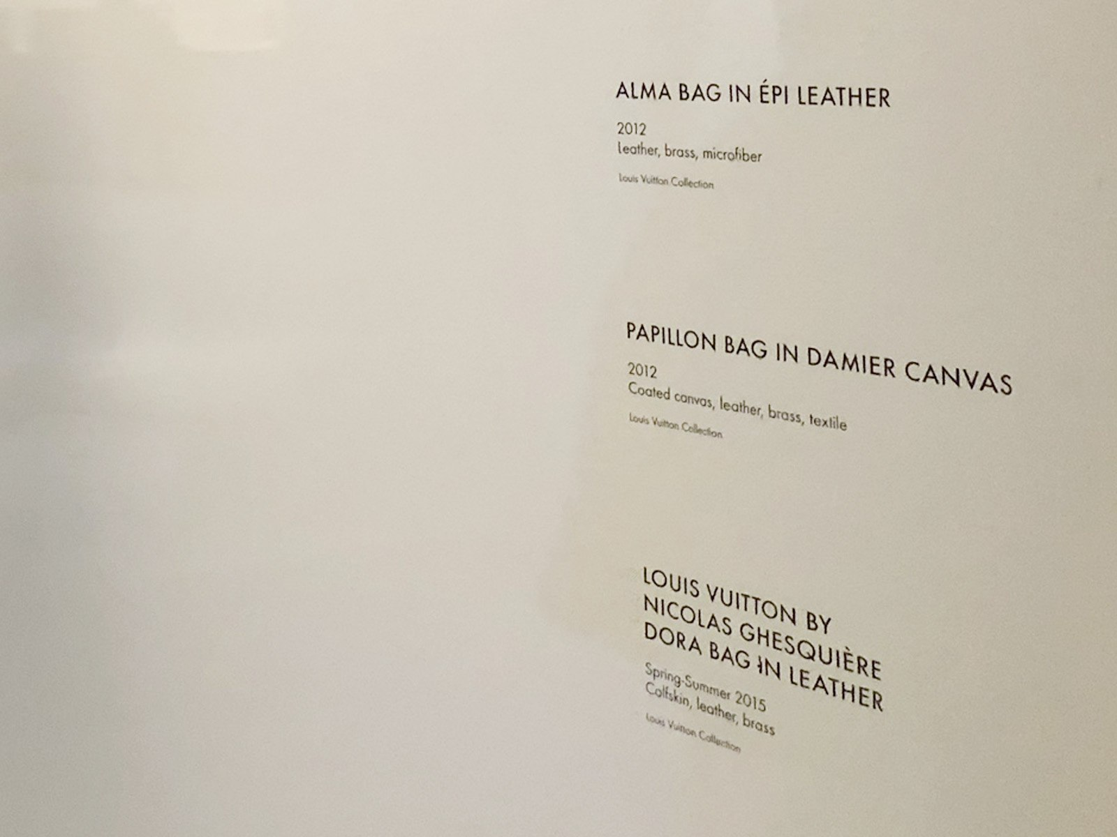 Custom Transfers as Museum Wall Labels | Museum Exhibit