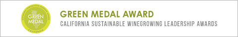 Francis Ford Coppola won the Green Medal Award 2018 by California Sustainable Winegrowing Leadership Awards