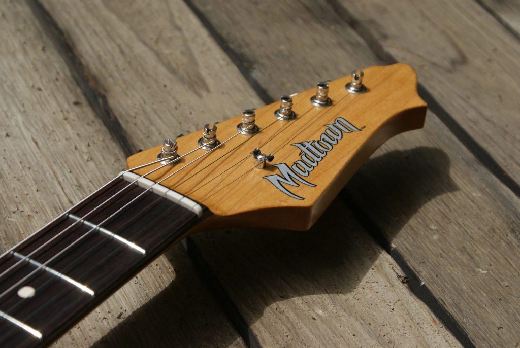 Permanent guitar decals.