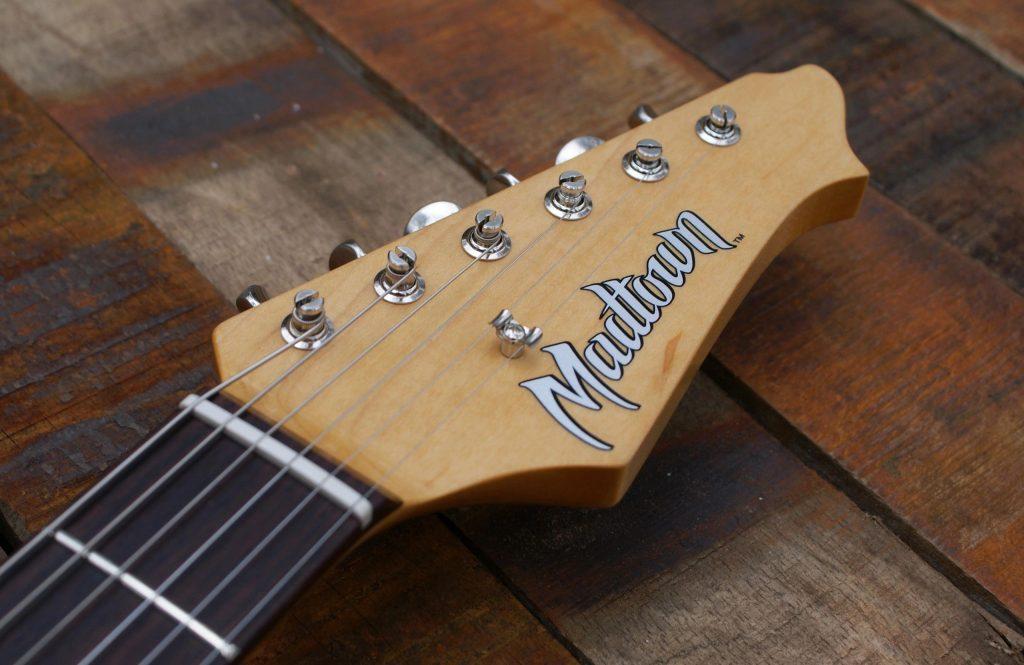 Madtown guitar decals.