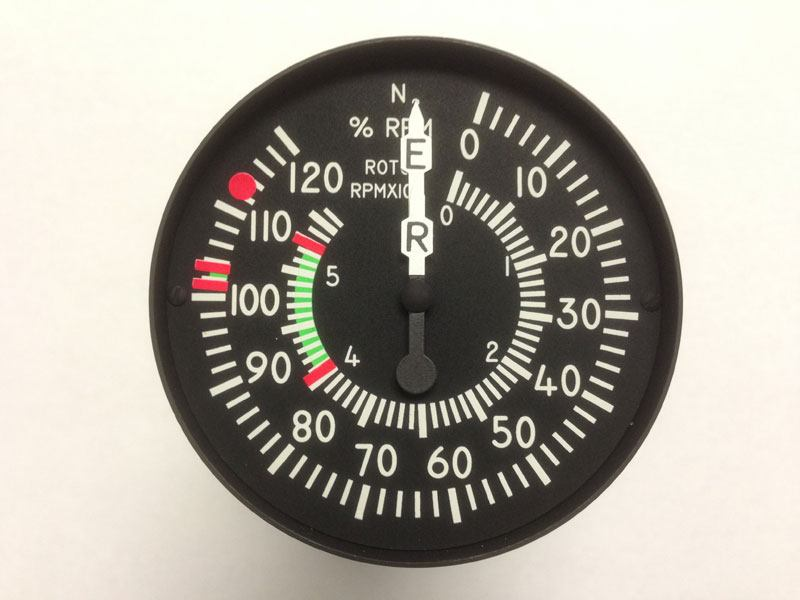 A new tachometer design by Insco, with custom transfers for numbers on the prototype of their instrument panel. We also make custom lettering for circuit board labels.
