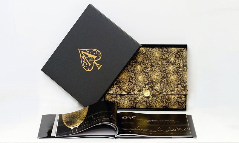 This product photo is of a book designed by Lisa Kay that has a custom gold foil transfer on its cover made by Image Transfers Inc.